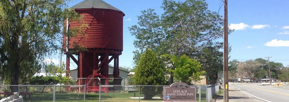 Gerlach Water Tower Park
