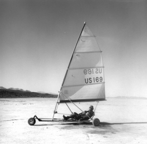Black Rock Desert Land Sailing